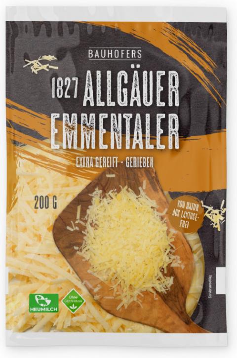 1827 Allgäuer Emmentaler gerieben 200 g