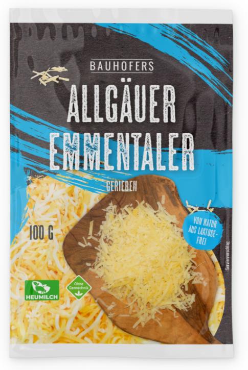 Allgäuer Emmentaler Reibkäse 100 g